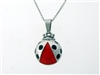 Lady Bug Mommy and Me Necklaces