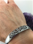 Field Of Thistle Scottish Thistle Cuff bracelet ( S279)