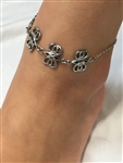 Celtic Butterfly Eternity Bracelet OR ANKLET You Pick (S300) Celtic Charm Bracelets, 316 L Stainless Steel Bracelet