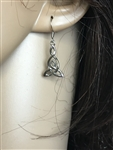 Celtic Mother & Daughter Infinity knot Earrings (s302) Irish, scottish, welsh, Trinity Mother's necklace