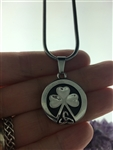 Field Of Faith Shamrock/Trinity Necklace (S310) Irish
