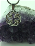 Celtic FATHER & Daughter knot Pendant (s316) Irish, Scottish, welsh