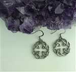 Celtic FATHER & Daughter knot Earring (s317) Irish, Scottish, welsh, Earrings