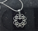 Forgiveness Celtic Love Knot Pendant (S320) Jewelry with meaning in Celtic knotwork