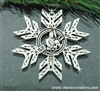 Pewter Scottish Piper SnowWonders® Snowflake (#sw6015)