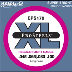 D'Addario EPS170 ProSteels 45-65-80-100
