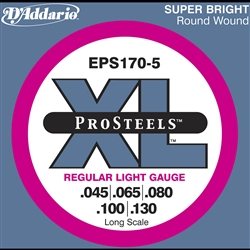 D'Addario EPS170 ProSteels 45-65-80-100-130