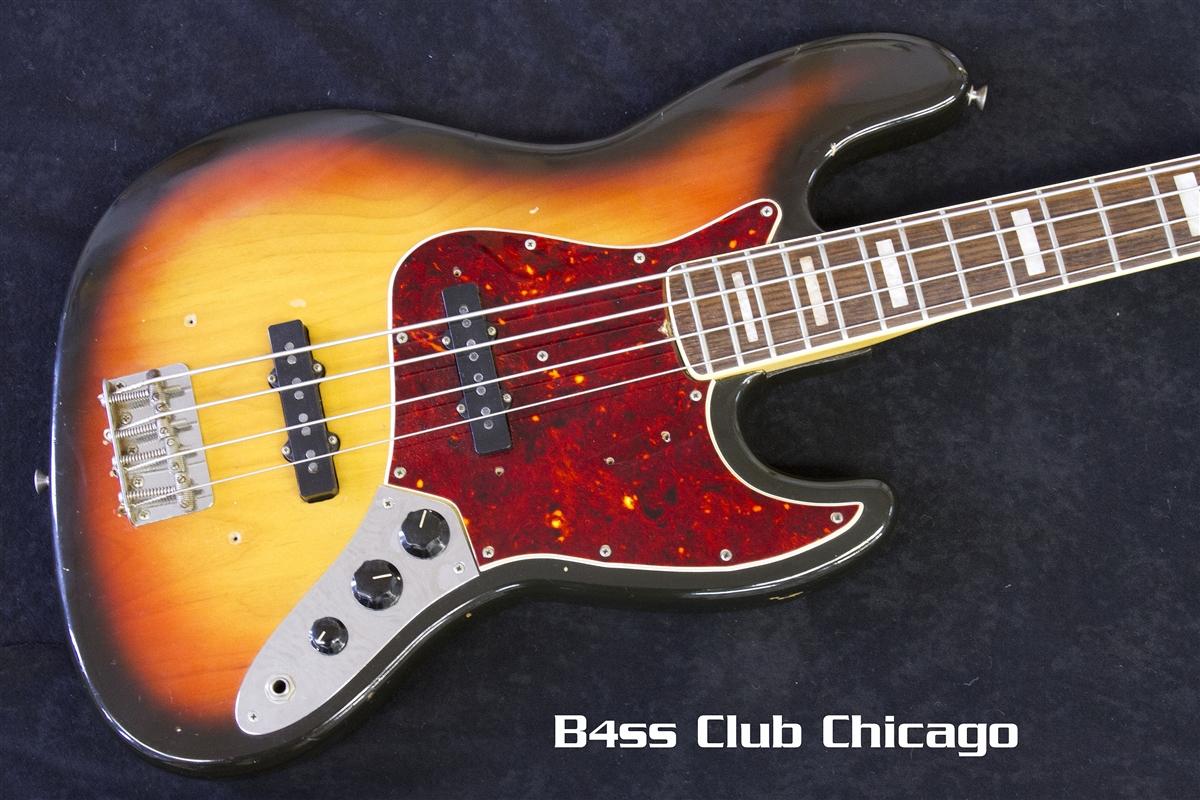 Fender Jazz Bass 1966 3 Tone Burst - All Original! SOLD!