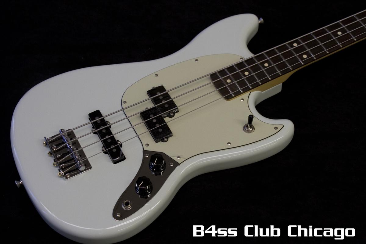 Fender Mustang P/J Sonic Blue Pau Ferro