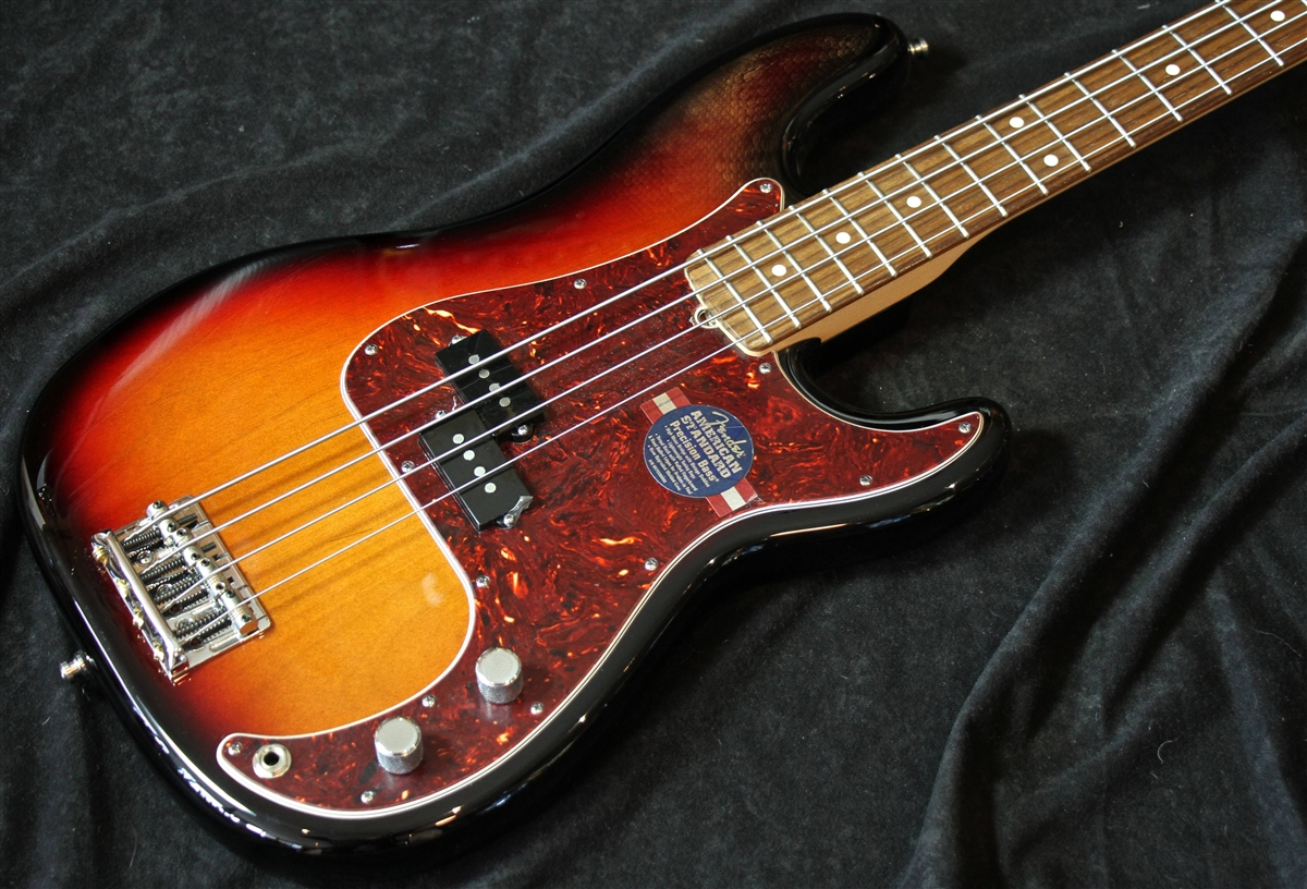 fender american standard p bass 3 tone burst sold. Black Bedroom Furniture Sets. Home Design Ideas