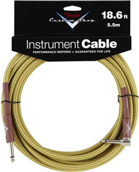 Fender Custom Shop Instrument Cable 18.6ft TWEED