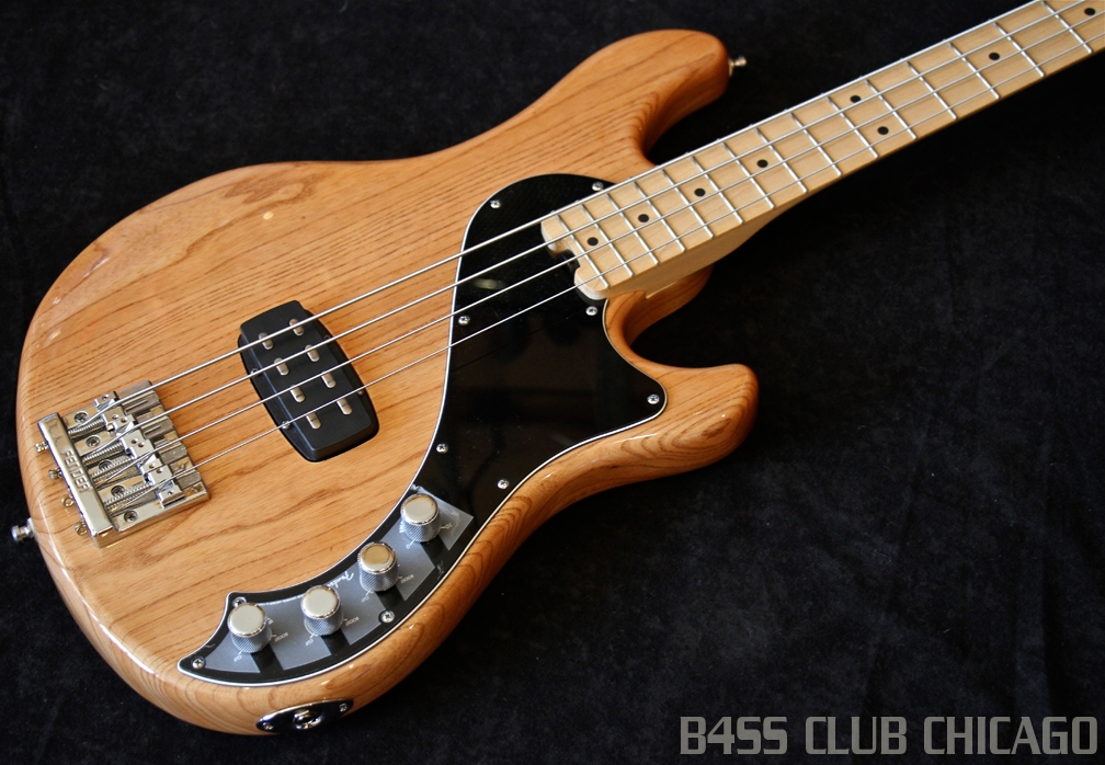 Fender American Deluxe Dimension Bass Natural IV