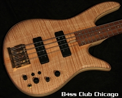 Fodera Monarch 4 Standard Flame Maple 7067 - SALE PENDING!