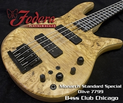 Fodera Monarch 4 Standard Special Olive 7799