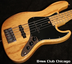 Mike Lull V5 Natural 5 String Jazz Bass