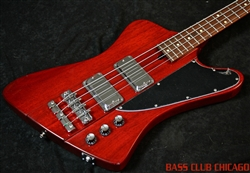 Mike Lull T4 Thunderbird Wine Red Bass Guitar SOLD