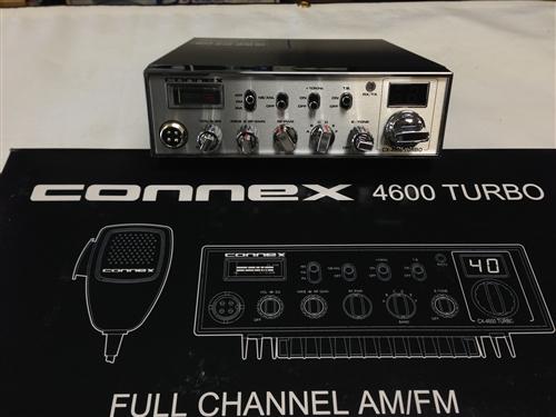 Connex CX4600 Turbo 10 Meter Radio - Connex CX 4600 Turbo