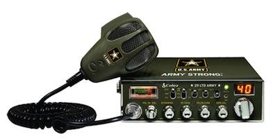 Co 29LTD Army Cb - Co 29 LTD Army with RFX75 100 watt modification on