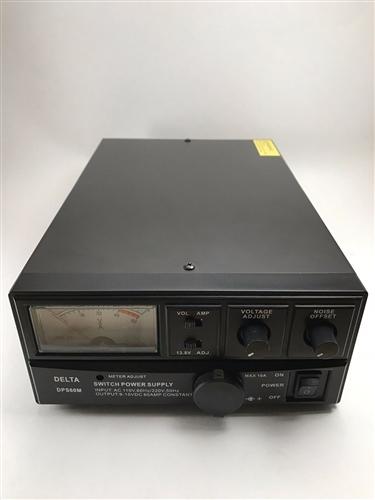 DELTA DPS60M 60 Amp AC/DC Switching Power Supply w/ Volt AMP Meter Ham CB  Radio