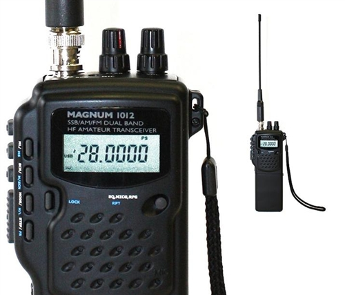 Magnum 1012 Handheld 10/12 Meter Radio is 40 channel AM and 40 channel USB  and LSB