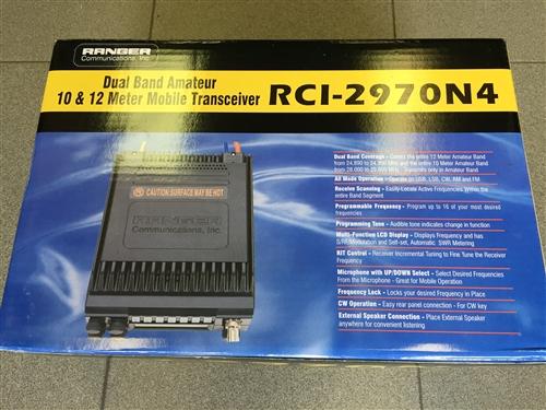 Ranger RCI2970N4 10 & 12 Meter Radio - Ranger RCI 2970 N4 on
