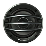 "Pioneer TS-A1374R 600W, 5-1/4"" 3-Way A-Series Coaxial Car Audio Speakers"