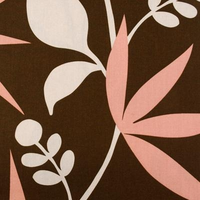 Thomas Paul Dahlia Flowers - Brown Swatch
