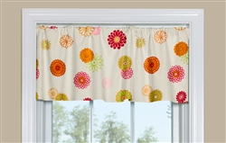 Floral Curtain Design