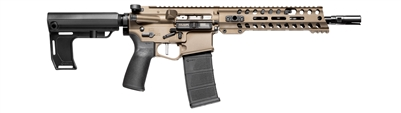 "POF USA RENEGADE+ 10.5"" 5.56(223) Pistol Burnt Bronze"