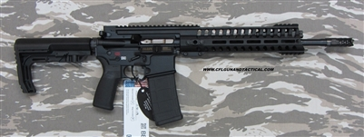 "POF USA GEN 4 P415 EDGE 14.5"" Black finish, 5.56mm with E2 extraction, Patriot Ordnance Factory gas piston rifles in stock. SKU 01143"
