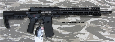 "POF USA GEN 4 P415 EDGE 16"" Black gas piston rifle with E2 extraction, Patriot Ordnance Factory gas piston rifles in stock. SKU 01143"