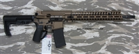 "POF USA GEN 4 P415 EDGE 16"" Burnt bronze cerakote finish, 5.56mm with E2 extraction, Patriot Ordnance Factory gas piston rifles in stock. SKU 01145"