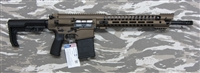 "POF USA GEN 4 EDGE P308 16""   Burnt Bronze from Patriot Ordnance Factory gas piston 7.62MM, 308 rifle SKU 01210"