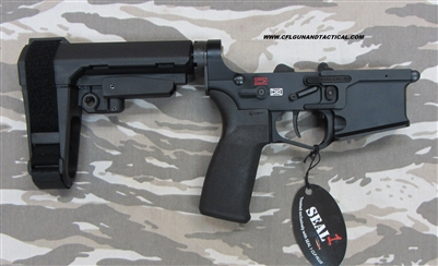 POF USA GEN 4 P415 Complete pistol Lower BLACK SB Tactical Brace