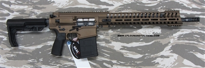 "POF USA GEN 4 EDGE P308 16""   Burnt Bronze from Patriot Ordnance Factory gas piston 7.62MM rifle SKU 01290-C4, with Fluted Barrel"