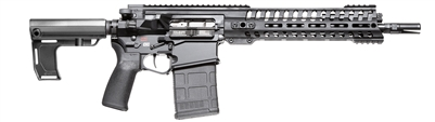 "POF USA CMR Revolution GEN 4 308 12.5""  BLACK from Patriot Ordnance Factory gas piston 7.62MM Pistol"