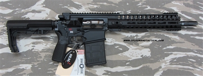 "POF USA CMR Revolution GEN 4 308 12.5""  BLACK from Patriot Ordnance Factory gas piston 7.62MM Short barrel rifle"