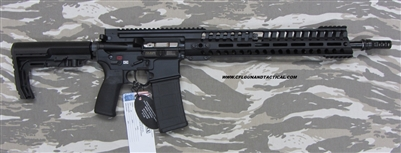 "POF USA GEN 4 P415 EDGE 16"" 300 Blackout, Black hard coat anodized finish, gas piston rifle with E2 extraction, Patriot Ordnance Factory gas piston rifles in stock. SKU 01444"