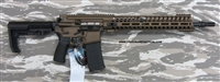 "POF USA GEN 4 P415 EDGE 16"" 300 Blackout, Burnt Bronze Cerakote finish, gas piston rifle with E2 extraction, Patriot Ordnance Factory gas piston rifles in stock. SKU 01444"