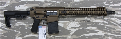 "POF USA GEN 4 EDGE 16""   Burnt Bronze from Patriot Ordnance Factory gas piston 6.5 Creedmoor"
