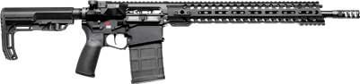 "POF USA Revolution DI  308 16""   BLACK from Patriot Ordnance Factory 7.62MM rifle SKU 01581"