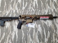 "POF USA CMR Revolution GEN 4 308 12.5""  Burnt Bronze from Patriot Ordnance Factory gas piston 7.62MM Pistol"