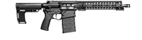 "POF USA ROGUE  308 12""   BLACK from Patriot Ordnance Factory gas piston 7.62MM rifle SKU 01665"