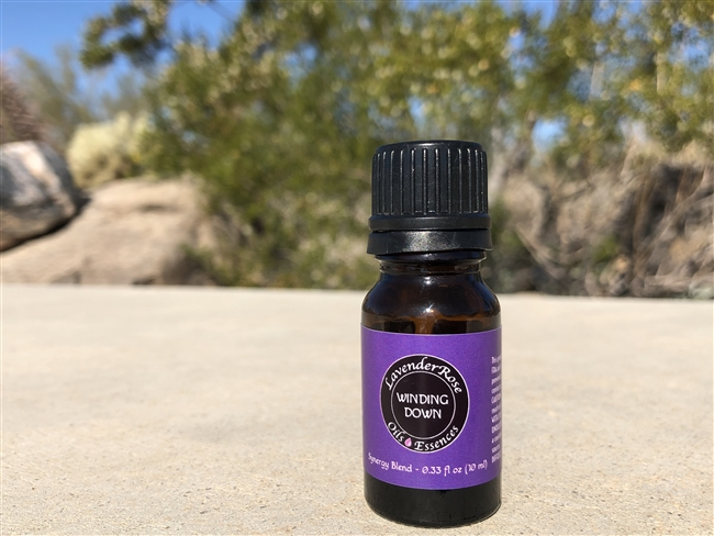 WINDING DOWN -Diffuser Blend -  0.33 fl oz (10 ml)