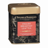 Taylors of Harrogate English Breakfast - Loose Tea Tin Caddy 4.4oz