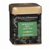 Taylors of Harrogate Moroccan Mint Green - Loose Tea Tin Caddy 4.4oz