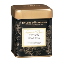 Taylors of Harrogate Special Rare Ceylon - Loose Tea Tin Caddy 4.4oz