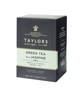 Taylors of Harrogate Green Tea with Jasmine - 20  Wrapped Tea Bags