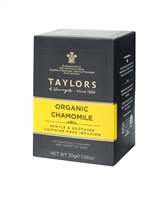 Taylors of Harrogate Organic Chamomile - 20  Wrapped Tea Bags