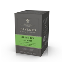 Taylors of Harrogate Green Tea with Mint - 20 Wrapped Tea Bags